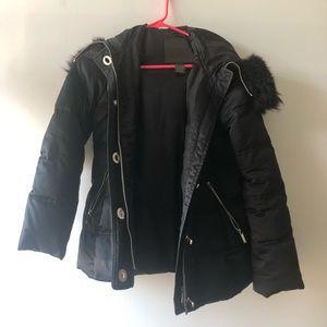 Coach Black Puffer Jacket - Small